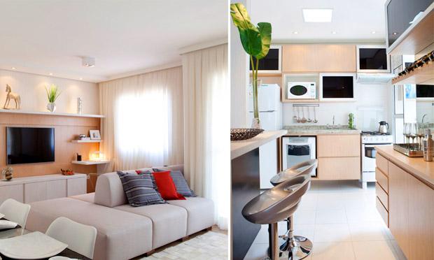 decoracao de interiores ambientes pequenos: de imagem e estilo por Fe Cardoso: Decoração para ambientes PEQUENOS