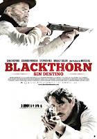 imagen de la portada de blackthorn en la que salen los protagonistas de la pelicula