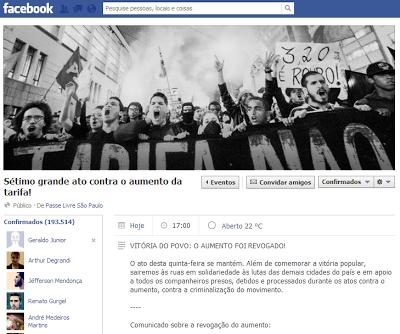 PT afirma que participará do 'Sétimo Grande Ato' hoje na 'Avenida Paulista'