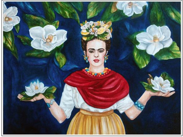 Frida' Magnoia's - Frida Kahlo