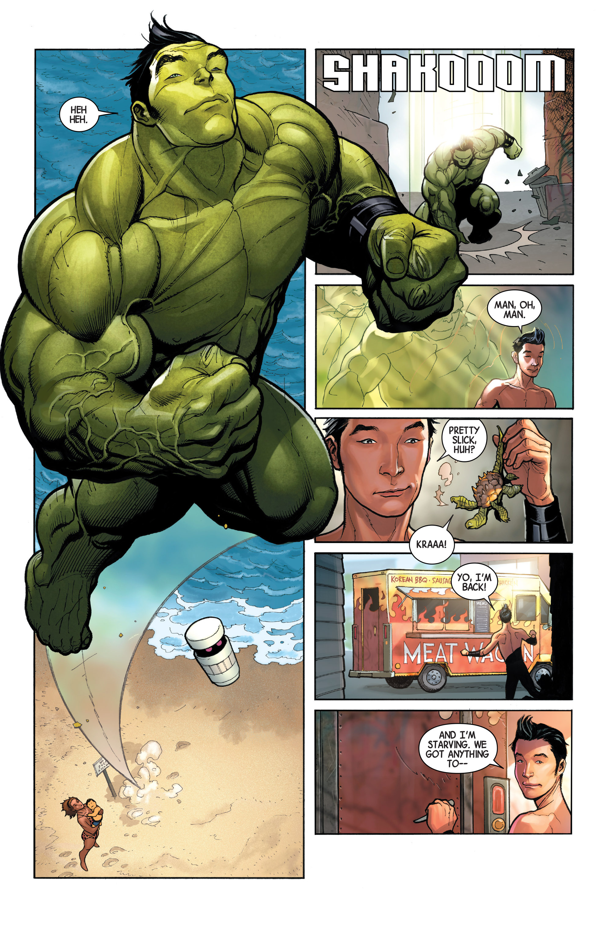 The totally awesome hulk 2016 1 read the totally awesome hulk the totally awesome hulk 2016 1 page 18 publicscrutiny Images