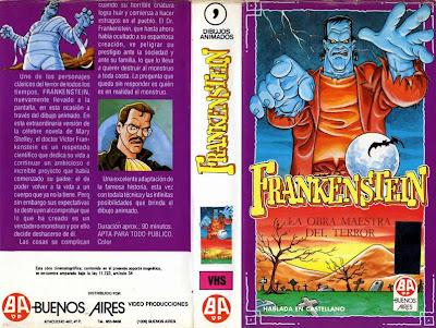 Frankenstein Animé Animación Japonesa