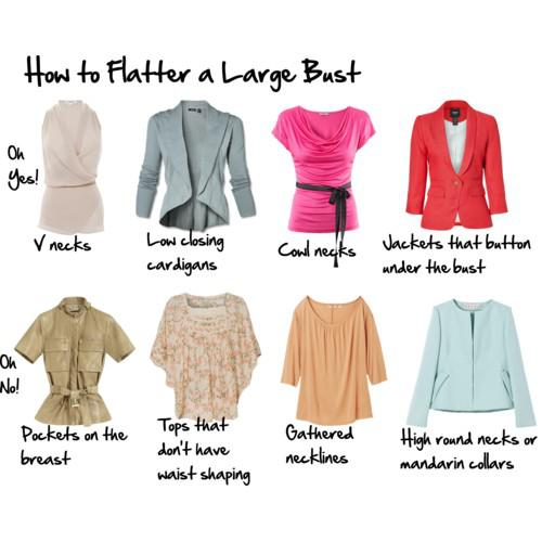 Different Types of Dress Neck Lines