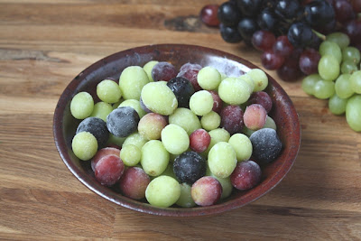 Frozen Fruit Salad recipe by Barefeet In The Kitchen