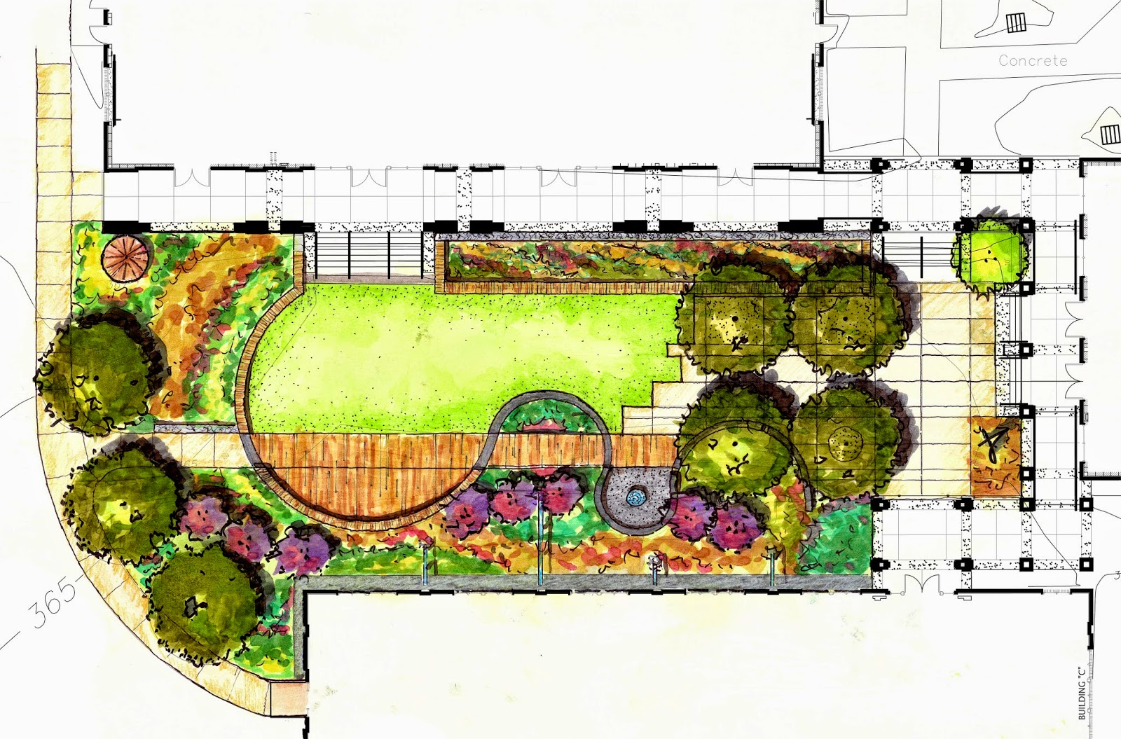 Glenn Cook Memorial Grove To Be Part Of LA Courtyard Mississippi