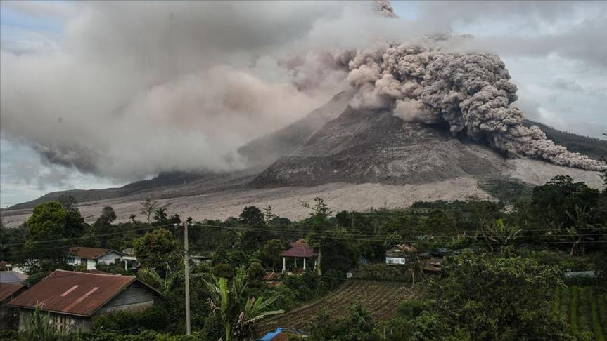 Global volcanic unrest as six eruption's registered since last Wenesday in The Democratic Republic