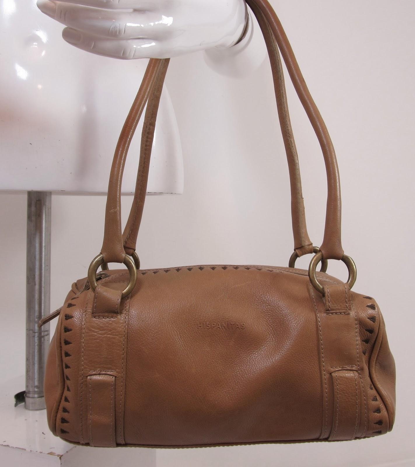 hermes birkin style bags - HISPANITAS CAMEL TAN QUALITY LEATHER HANDBAG OVER SHOULDER BAG ...