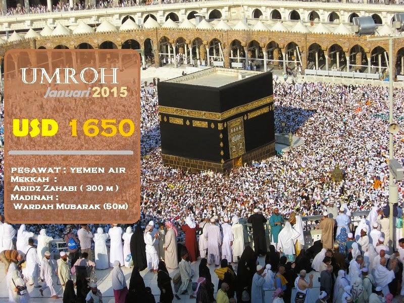 Travel paket Umroh Murah Promo Januari 2015