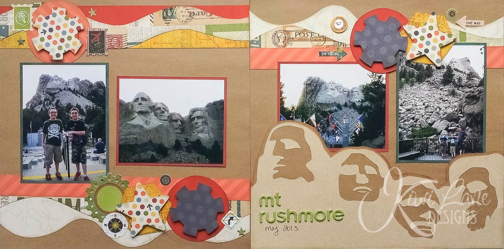 Mt. Rushmore -- Kiwi Lane DT Doodles Sketch #8 -- www.MightyCrafty.me
