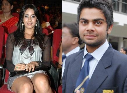 Virat Kohli Girlfriend Sanjana Pictures