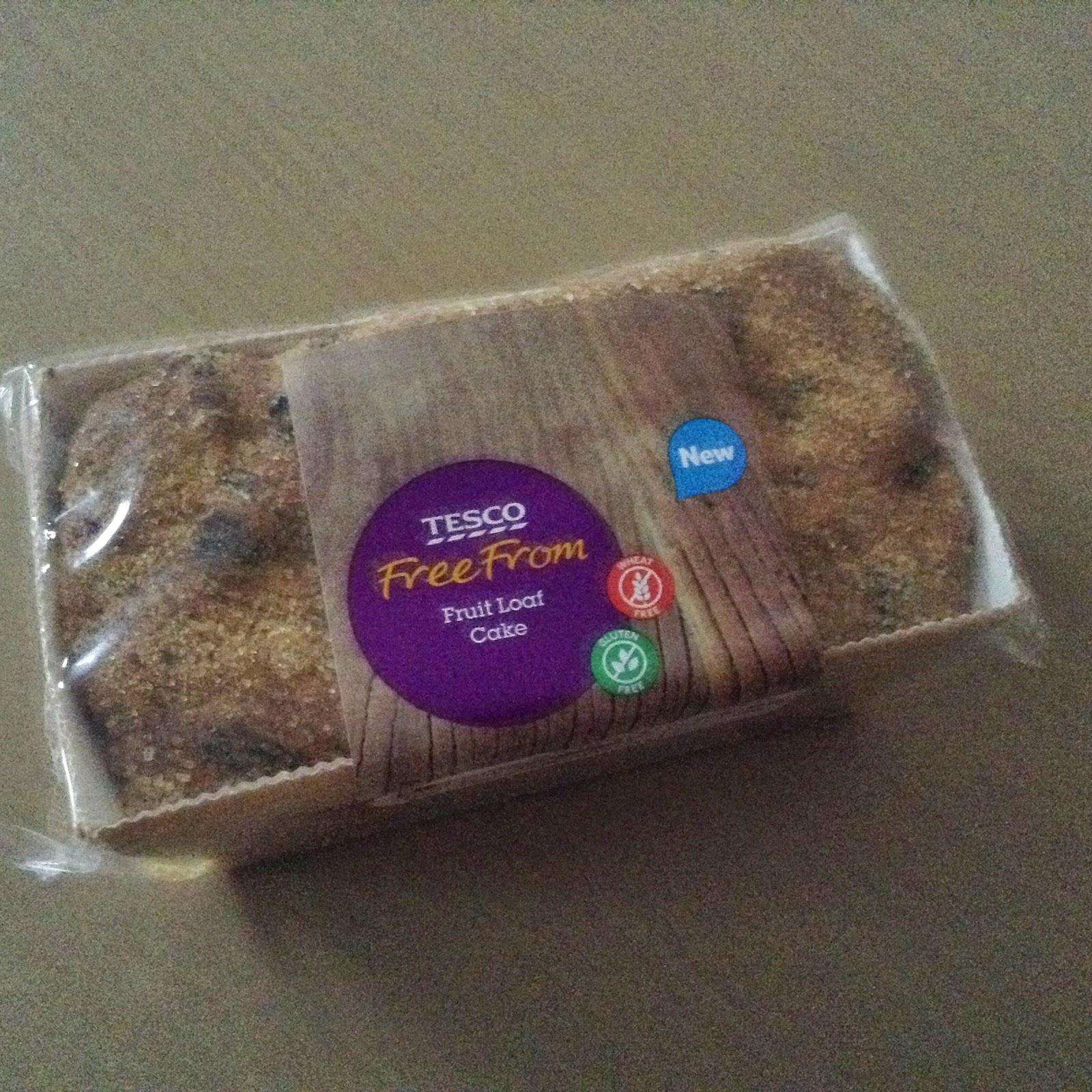Tesco Free From Fruit Loaf Cake