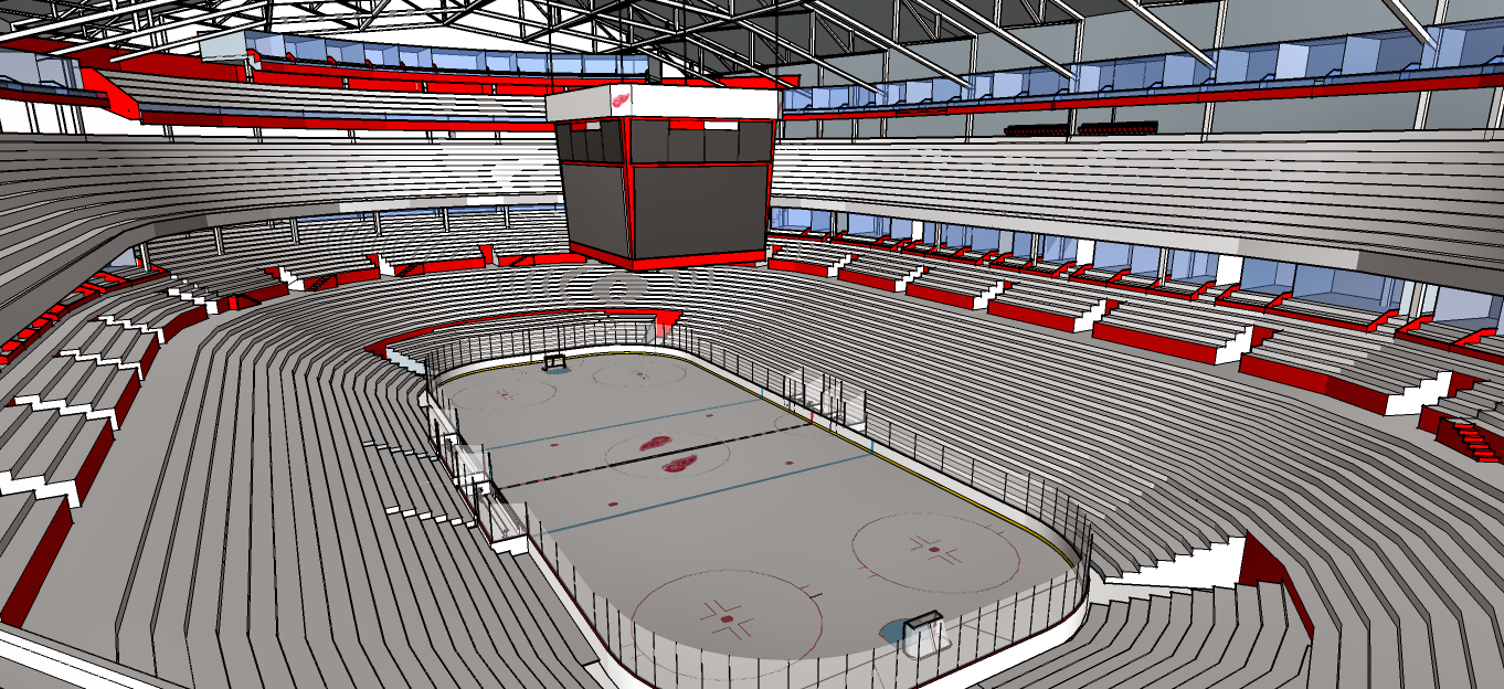 New Detroit Red Wings Arena 3