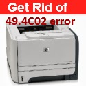 How to handle 49.4C02 errors on HP Laserjet P3005 series