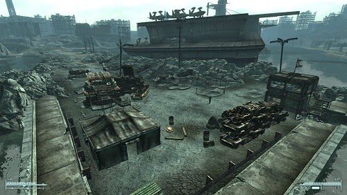 The most popular fallout 3 building mods for Entrance to rivet city