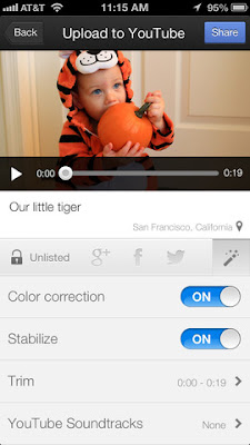 Directly Upload videos from iPhone or iPad with YouTube Capture