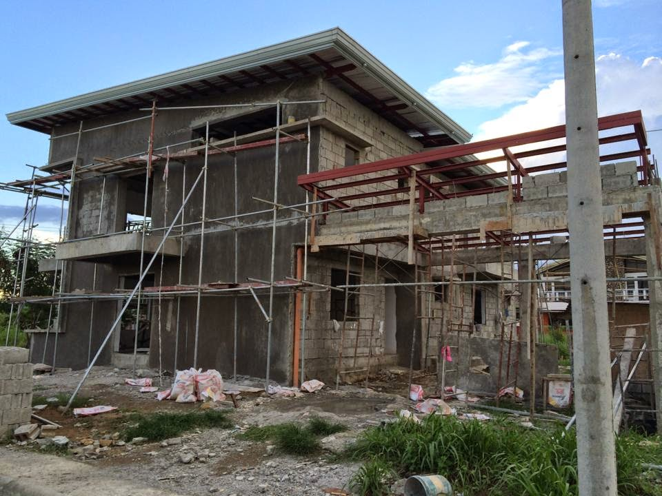 Westwood subd house construction project in mandurriao for Cheap house design philippines