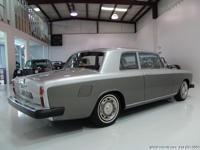 Rolls Royce James Young Silver Shadow 2 door