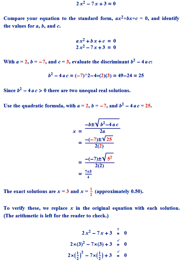 how to find the quadratic equation given the roots