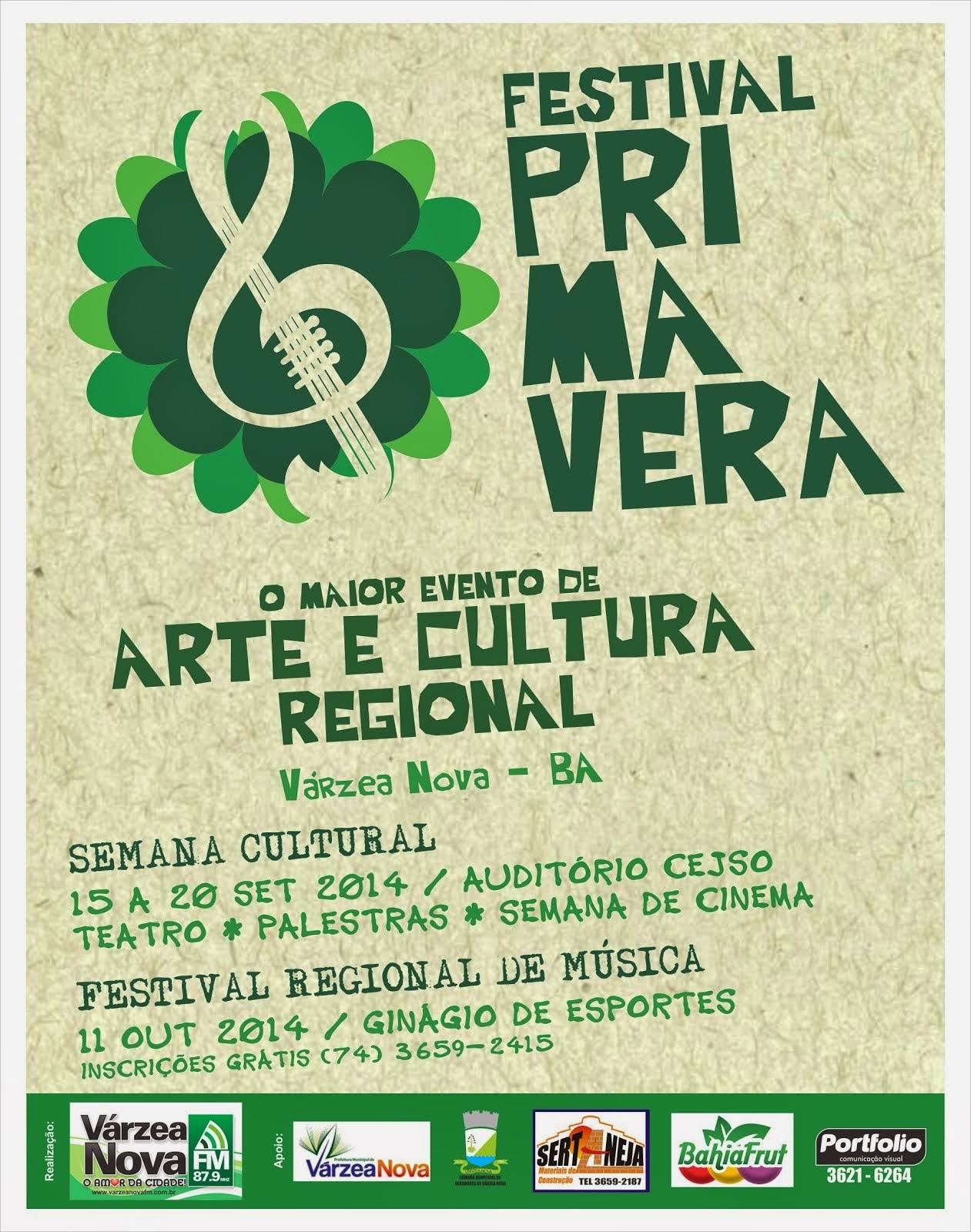 FESTIVAL PRIMAVERA 2014