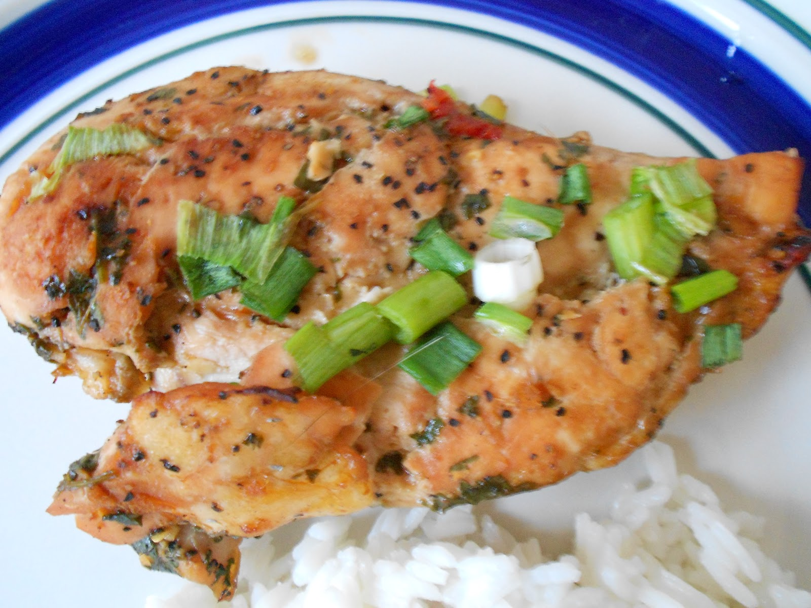 The Pub and Grub Forum: Ginger and Cilantro Baked Tilapia (Chicken)