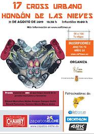 31-08-2019 XVII CROSS URBANO HONDÓN DE LAS NIEVES