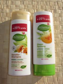 Recenzja - szampon i odżywka Alterra