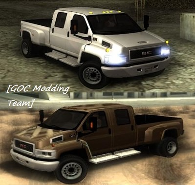 WELCOME TO HANTERSHELL FILES: GTA: San Andreas Addon - 2008 GMC Topkick C4500