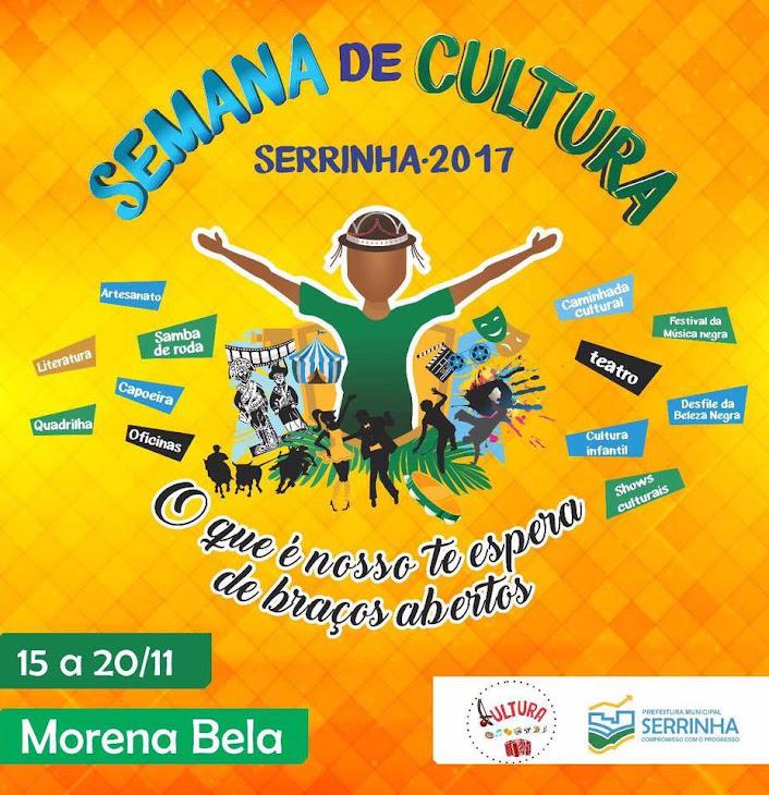 Semana da Cultura de Serrinha 2017