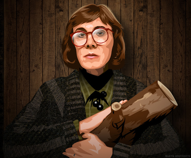 Twin peaks illustrated - The Log Lady