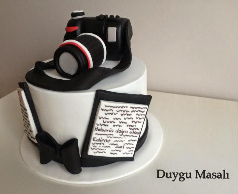 fotoğraf makinesi pasta