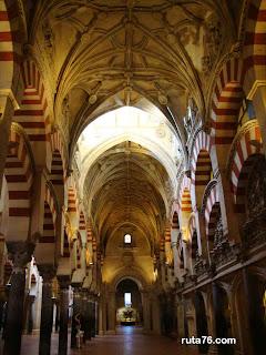 Mezquita catedral de Cordoba andalucia españa