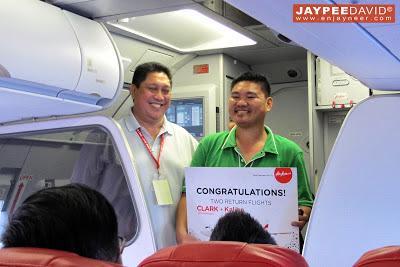 Air Asia Philippines Clark to Singapore, CRK to SIN, inaugural flight, Clark International Airport, DMIA, Maan Hontiveros, Freddy Herrera, Singapore Tourism