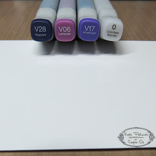 copic oz: Copic Backgrounds using Colorless Blender
