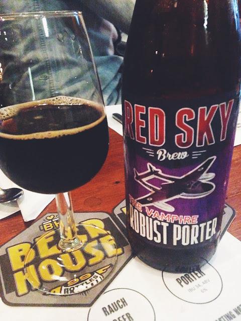 Red Sky Brew beer and food pairing at Beerhouse - www.teawithmrsbee.blogspot.com