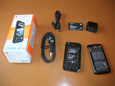 Motorola Atrix, amazon, unbox, parts, dual core, cpu, 1Gb, at and t