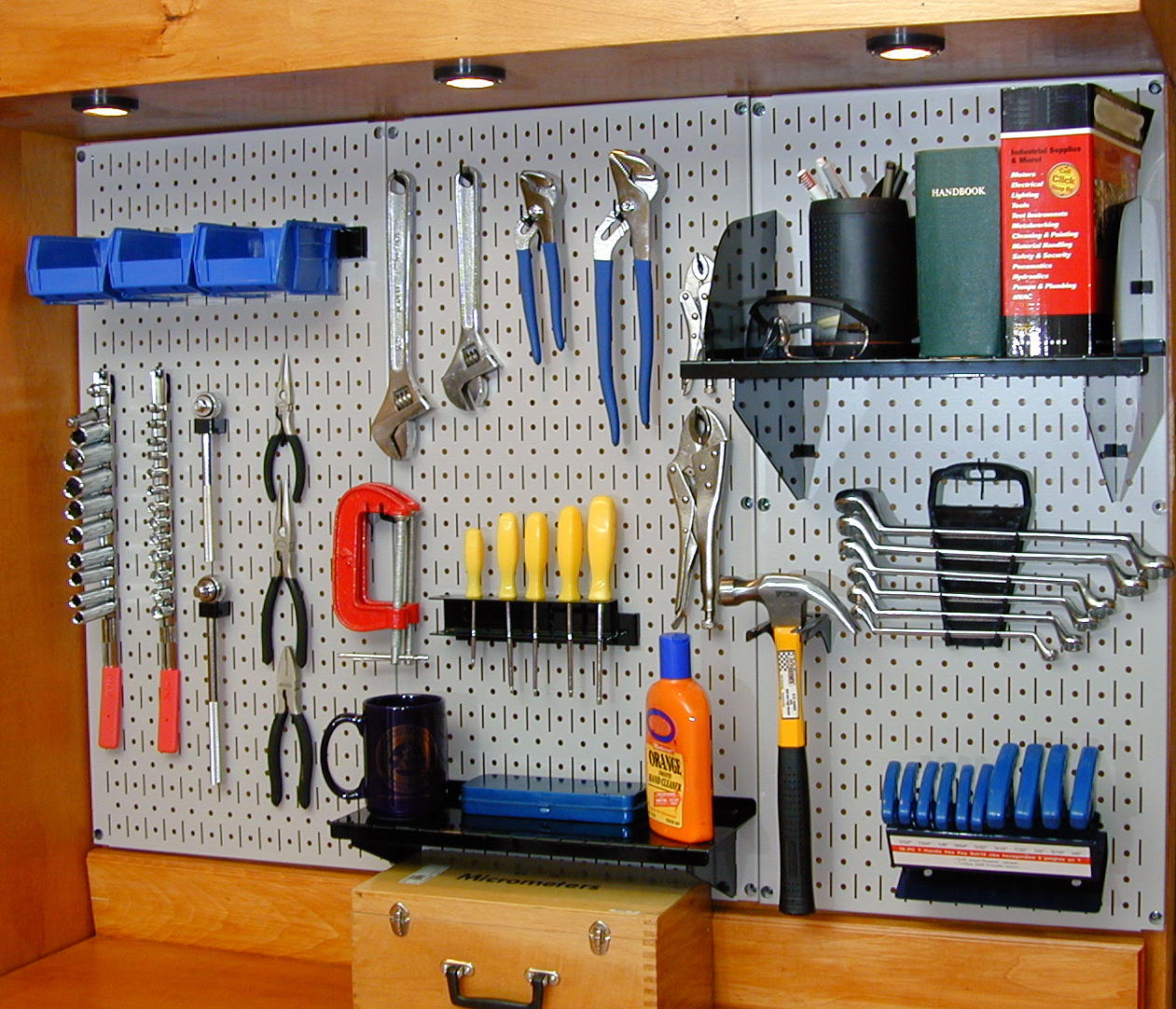 Pegboard Tool Storage Amp Garage Organization Blog The Most Innovative Wall Mounted Organization