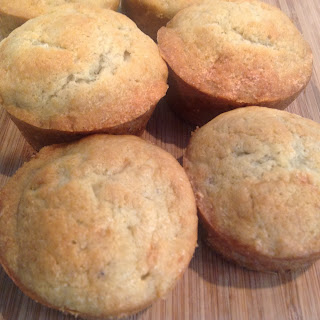 Banana bread muffins from Food Therapy