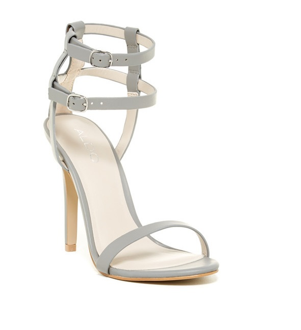 Aldo barely there heels