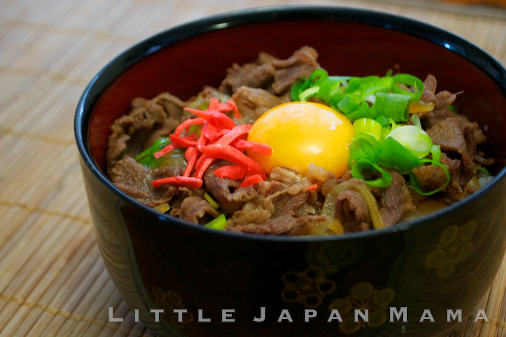 little japan mama : Gyudon Recipe
