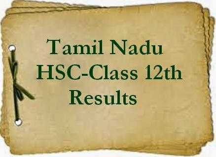 TN Board 12th Results 2015