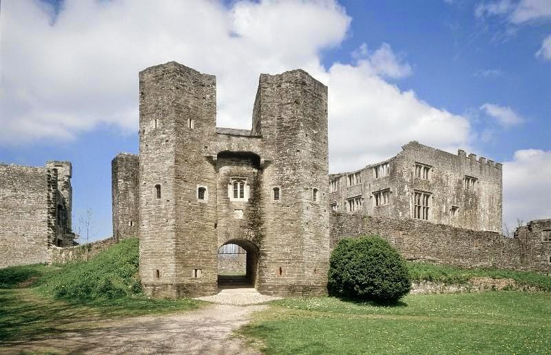Berry Pomeroy Castle in England
