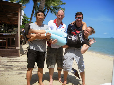 EFR Instructor course, October 2013, Koh Samui, Thailand