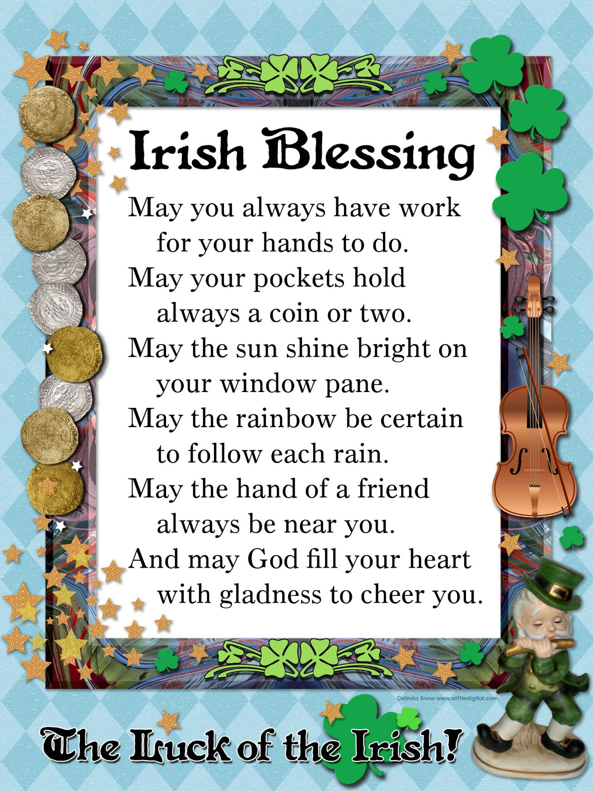* Nubia_group Inspiration *: Sharing Irish Blessings (from the NET)