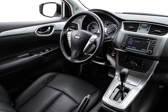 Nissan Sentra 2016 - interior