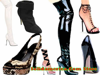 Botas e sapatos femininos lindos