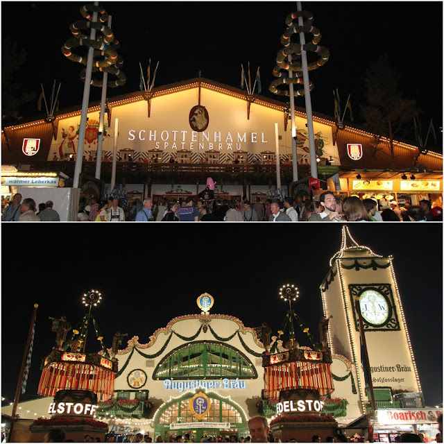 Another Beer Houses at Octoberfest Festival in Munich, Germany