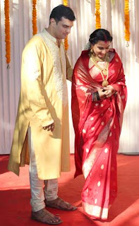 Vidya Balan Marriage Photo albums