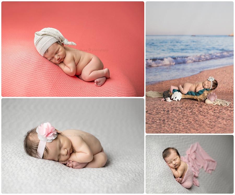 eugene springfield oregon newborn photography beach