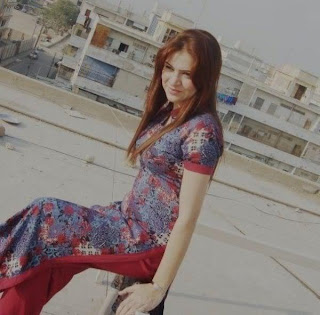 Hot Desi Beauty on the Roof
