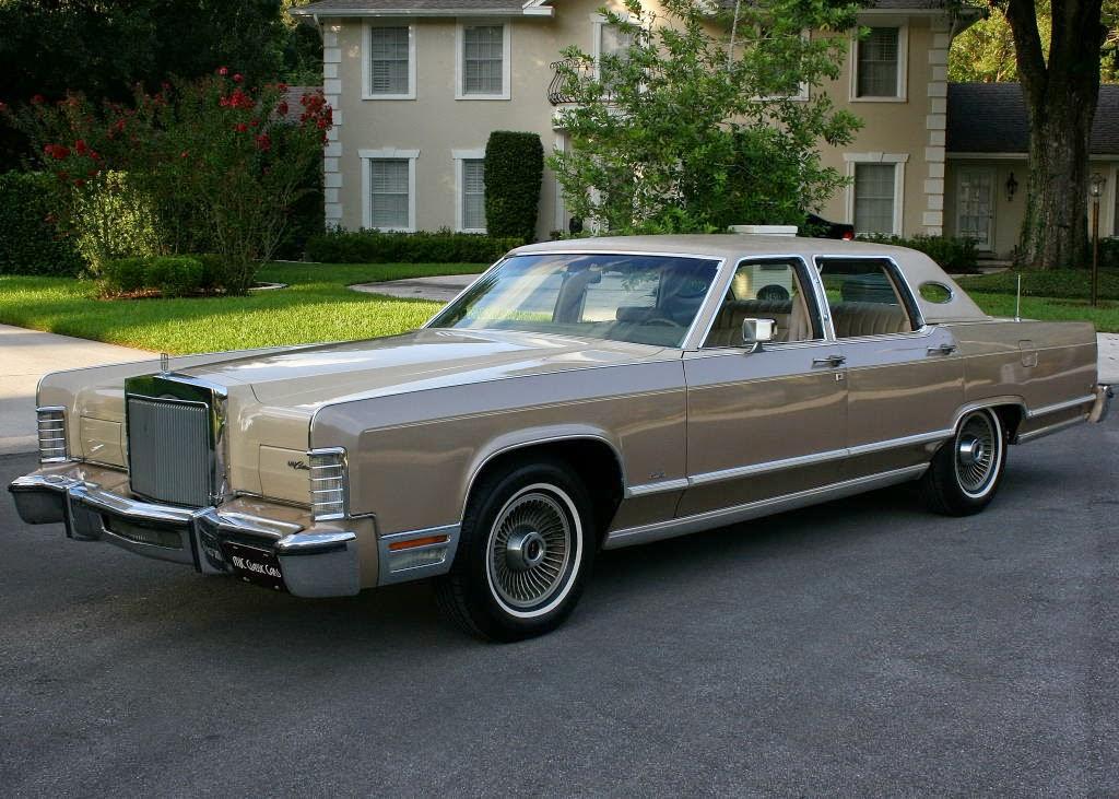 all american classic cars 1978 lincoln continental town car 4 door sedan. Black Bedroom Furniture Sets. Home Design Ideas